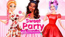 Сладкая вечеринка с принцессами