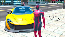 Супергерой в городе