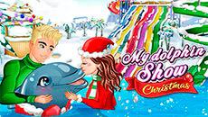 Новогоднее шоу дельфина
