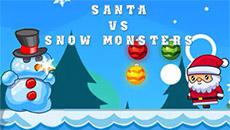 Дед мороз против снежных монстров