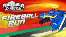 Рейнджеры самураи: Fireball run